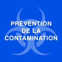 Prévention de la contamination